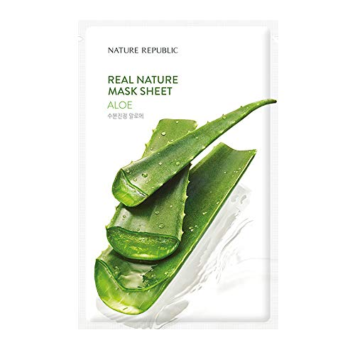 [New] Nature Republic Real Nature Mask Sheet_10Sheet (#Aloe)