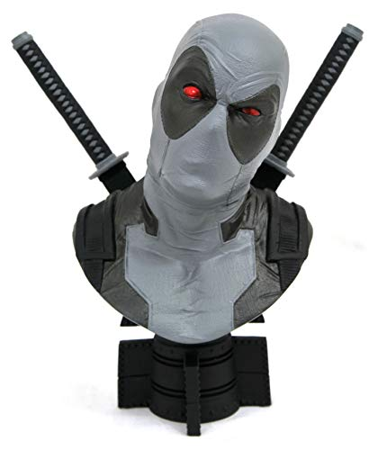 DIAMOND SELECT TOYS San Diego Comic-Con 2019 Marvel Legends in 3-Dimensions X-Force Deadpool 1: 2 Scale Bust