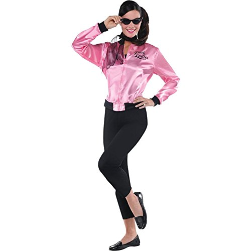Pink Ladies Grease Jacket Costume - Large (10-12) ()