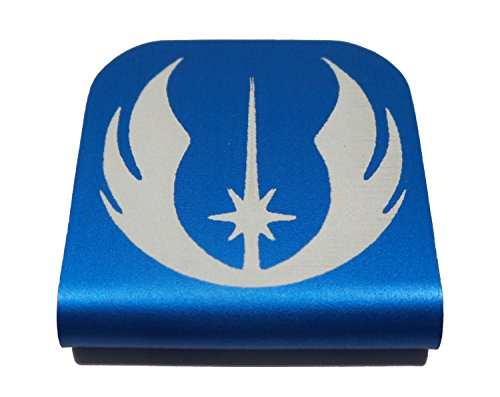 Eod Suit Costume (Jedi Order Star Wars Morale Tags Hat Clip for Tactical Patch Caps (Blue))