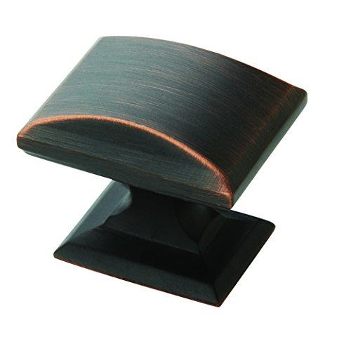 Bronze Amerock Knobs (Amerock 10PK29340ORB Candler Cabinet Knob (10 Pack) 1-1/4 inch (32 millimeter) Length Oil Rubbed Bronze Piece)