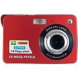 Mini Digital Camera,CamKing CDC3 2.7 inch TFT LCD HD Digital Camera (Red)