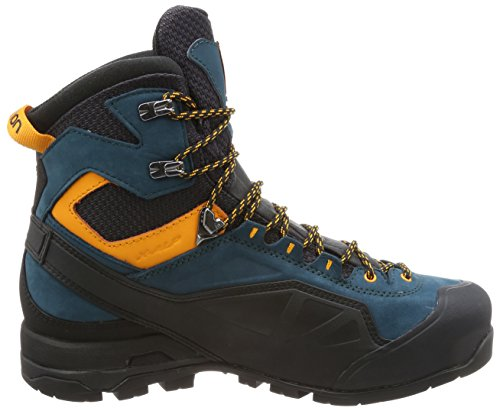 Salomon X Alp Mtn GTX, Stivali da Escursionismo Alti Uomo Nero (Phantom/Reflecting Pond/Bright Mari)