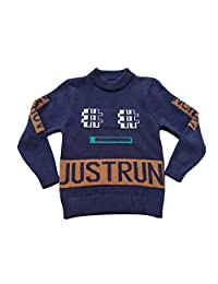 Diocan Boys' Sweater Long Sleeve Pullover Casual Cable Knit Cotton Sweater 2T to 6T