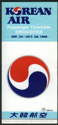 korean-air-lines-airline-timetable-9-24-10-28-1989-in-korean-english