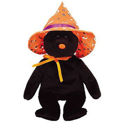 TY Beanie Baby - POCUS the Halloween Bear (BBOM October 2005) (8.5 inch) - MWMTs -