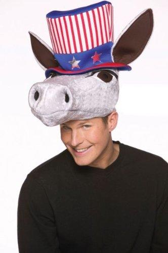Rasta Imposta USA Donkey Hat, Red/White/Blue, One Size