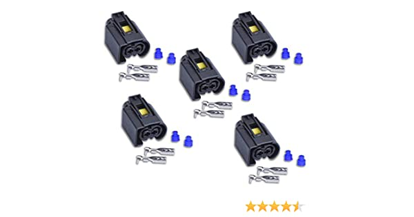 Conector compatible inyector Bosch 2 pines 50290937 hembra L-BW50290937 A1685452928
