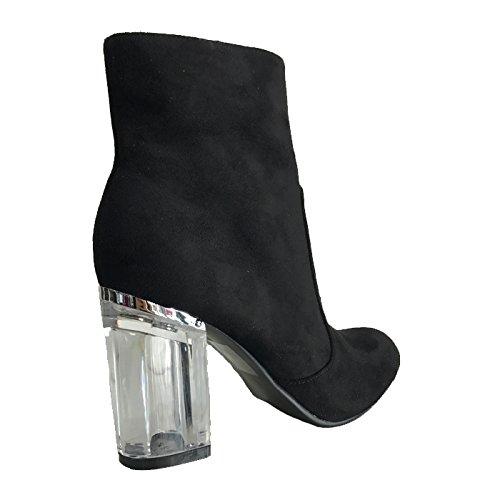 0930 Bottines Style à Talons Ref Shoes XBXw5qA7