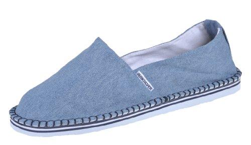Quiksilver The Chill KMMSL084 , Alpargatas de tela para hombre, color azul, talla 39