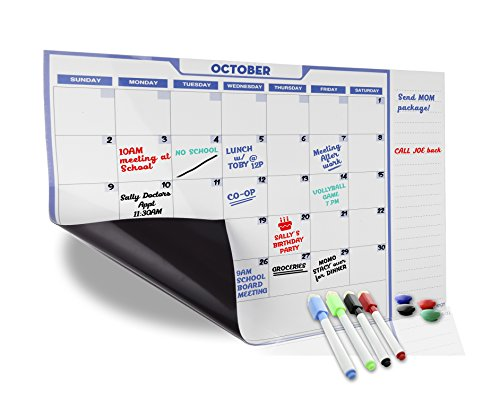 Monthly Magnetic Calendar Refrigerator Organized product image