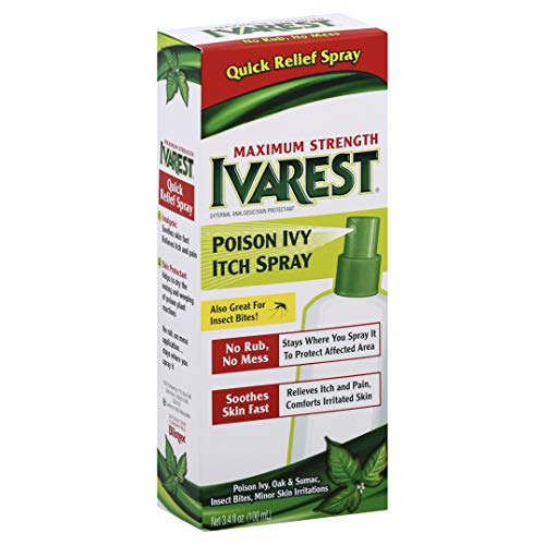 Ivarest Poison Ivy Itch Spray, 3.4 Ounce