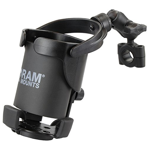 (RAM Mount RAM-B-408-75-1-A-417U Level Cup XL with Clamp for 0.5-1