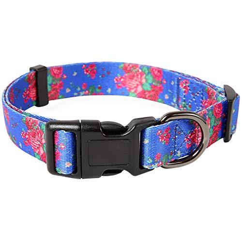 collar para perro ajustable broche metal Irish talle L