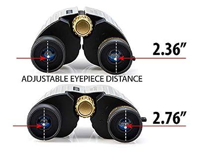 Binoculars for Kids - HIGH Resolution, Shockproof | 8X22 Kids Binoculars for Bird Watching, Best Gift for Boys, Girls | Real Optics Set for Outdoor Games | Detective & Spy Gear