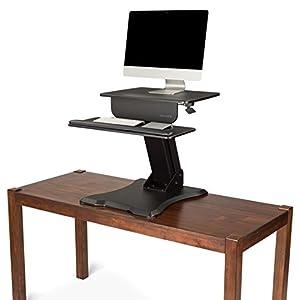 UPLIFT Adapt Standing Desk Converter (Freestand)