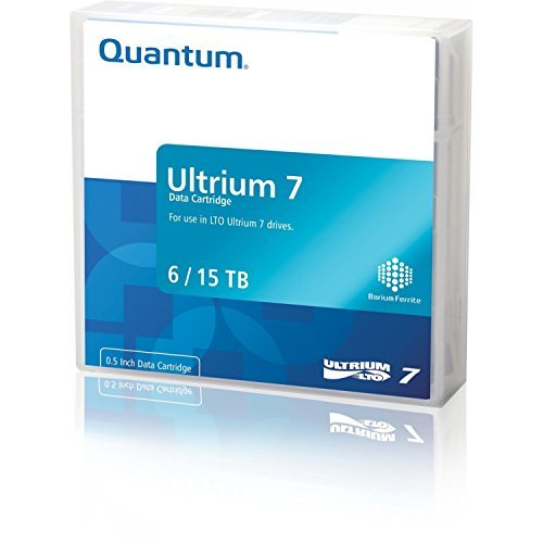 Quantum Lto Ultrium 7 Worm Media Cartridge by Quantum