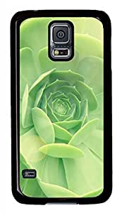 Succulent 2 Black Hard Case Cover Skin For Samsung Galaxy S5 I9600