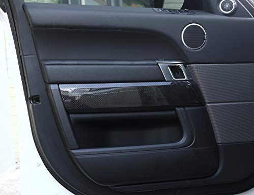 - for 2014-2018 Land Rover Range Rover Sport Edition Interior Door Trim Panel, ABS Carbon Fiber car Interior Modification Accessories