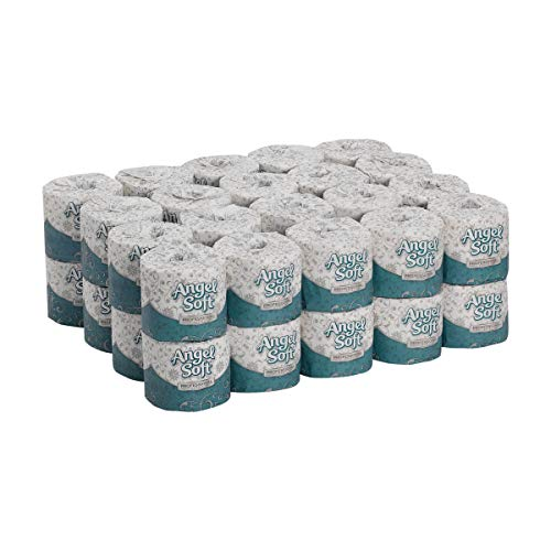 Angel Soft Professional Series Premium 2-Ply Embossed Toilet Paper by GP PRO (Georgia-Pacific), 16840, 450 Sheets Per Roll, 40 Rolls Per Case - Bath Angel Soft Ps
