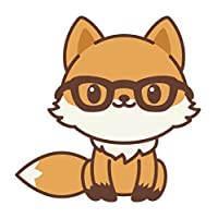 Divine Designs Adorable Kawaii Fox Emoji Cartoon #1 Vinyl Decal Sticker