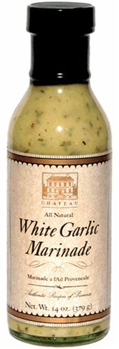 - Chateau White Garlic Gluten Free Marinade, 12oz (4 Pack)