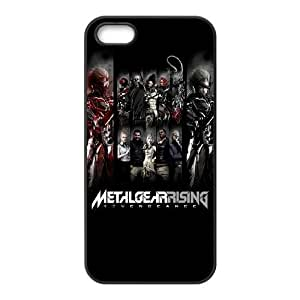iPhone 5 5s Cell Phone Case Black Metal Gear Rising Revengeance Characters Jhazn
