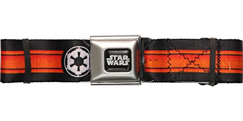 Star Wars Logo Belt - Star Wars Empire Logo Stripe Seatbelt Belt
