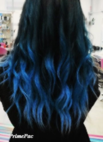 Buy Hair Chalk Comb 3 Pack Electric Blue Hair For Beautiful