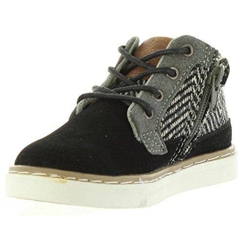 Stiefel für Junge CHEIW 47019XV C21935 SERRAJE NEGRO