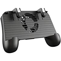 PUBG L1R1 Game Shooter Mobile Phone Gamepad Game Joystick Controller Ultra-Portable Grip Holder With mute heat dissipation fan