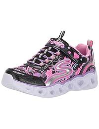 Skechers Girls Heart Lights Sneakers