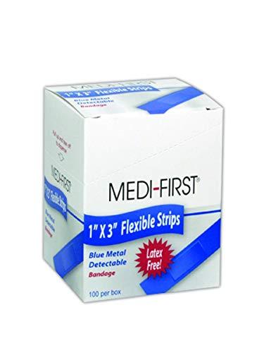 Medique MP68033 Medi-First Metal-Detectable Woven Bandage, 1