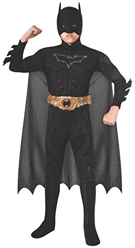 Batman Dark Knight Rises Child's Deluxe Light-Up Batman Costume with Mask and Cape - Small]()