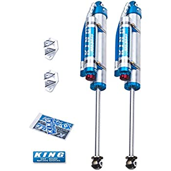 King Shocks 25001-224A Performance Shock Kit w//Adjusters 3-5in Lift Kits Performance Shock Kit
