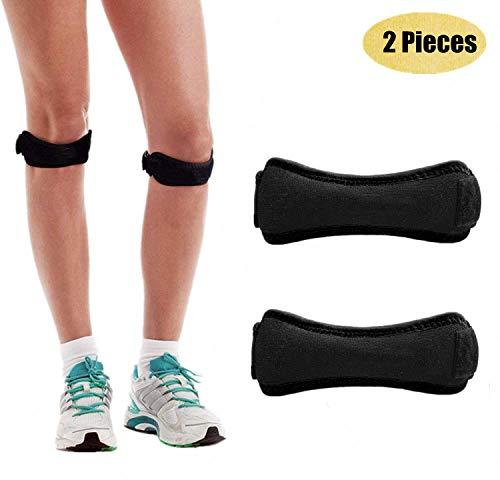 BEATEASY Patella Knee Strap for Running, Fitness, Stairs Climbing Patellar Tendon Support Strap for Knee Pain Relief Knee Support, Pain Relief Patellar Tendon Support, Adjustable Brace Band