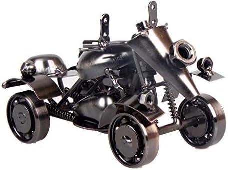 四輪ATVカートモデル家の家具オフィスデスクトップ創造的な装飾品、レトロ (Color : Bronze, Size : 15*7*8cm)