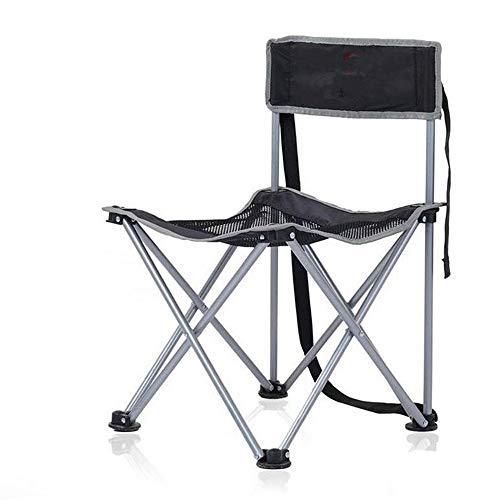 RMXMY Ultraleichter Campingstuhl - Leicht tragbar, zusammenlegbar und kompakt für unterwegs Reisen (Angeln, Camping (Farbe   A)