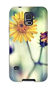 Cheap Hot Tpye Yellow Spring Daisy Case Cover For Galaxy S5