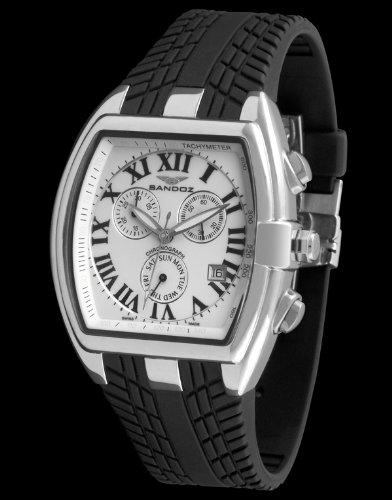 Sandoz 81255-00 - Reloj Fernando Alonso Caballero Blanco: Amazon.es: Relojes