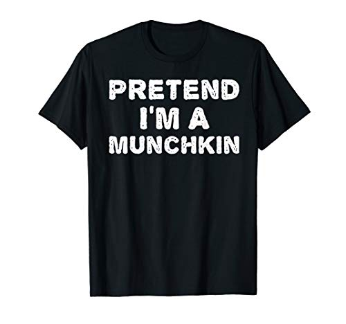 Last Minute Simple Halloween Costumes For Adults (PRETEND I'M A MUNCHKIN Funny Halloween DIY Costume)