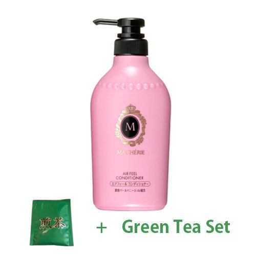 Shiseido Macherie New Air Feel Conditioner EX - 450ml (Green Tea Set)
