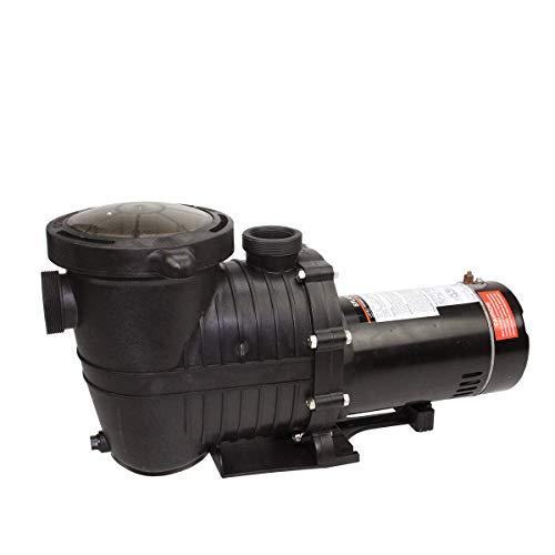 High Performance Pump Head - Pool Central 1 hp High Performance Self-Priming Medium Head Swimming Pool and Spa Pump, Black