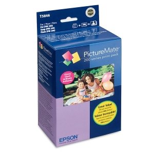 - Epson PictureMate™ 200-Series Print Pack