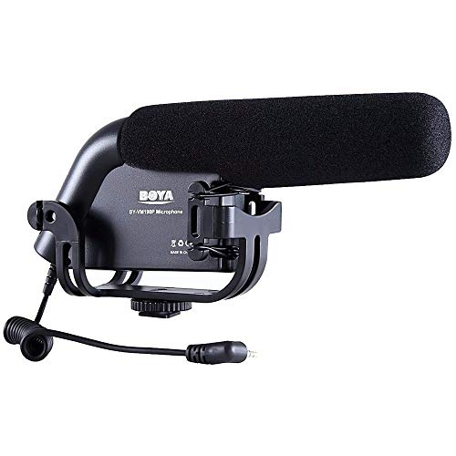 Microfone profissional Boya BY-VM190