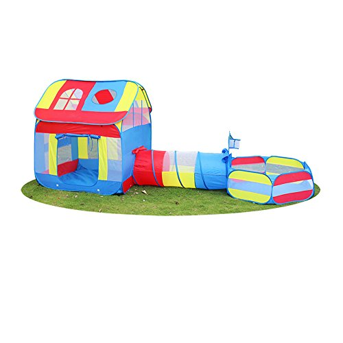 (Children 3 in 1 Playhouse Big Children Play Tent 39.4