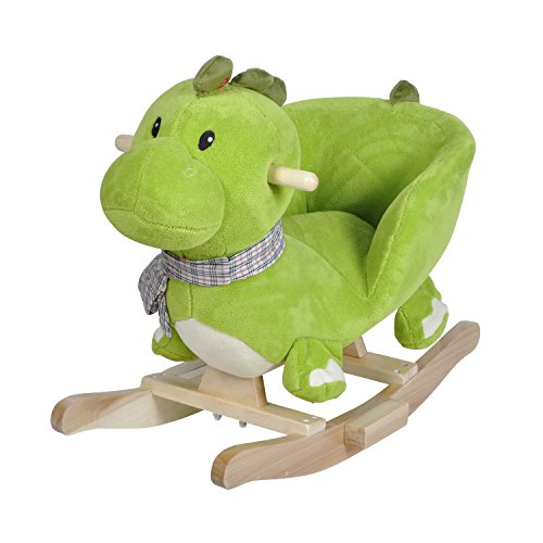 Knorrtoys 40481 - Schaukeltier Dino Olaf mit Sound