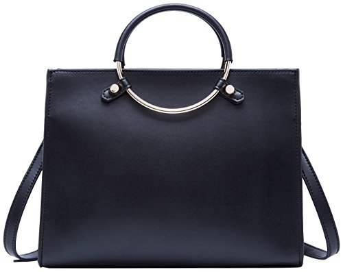élégant BOYATU main Bag femmes Handle Top Fashion pour en cuir Noir tout Ladies à Sacs fourre 11vwqrS7