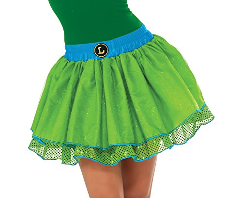 Teenage Mutant Ninja Turtle Adult Costumes (Rubie's Costume Co Women's TMNT Classic Leonardo Tutu Costume, Green, Standard)