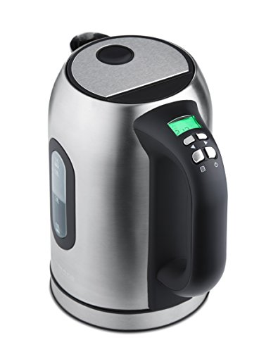 ic Tea Kettle with Digital Display in Stainless Steel ()